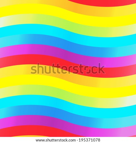 Abstract background rainbow wave ,vector eps10 - stock vector
