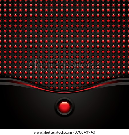 Abstract background, red brochure, vector - stock vector