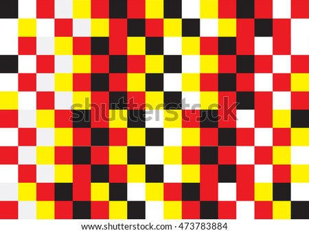 Abstract background,red ,yellow ,black and white color