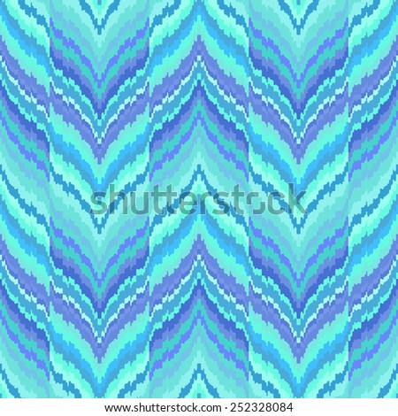 Abstract background. Seamless ikat pattern. Vector illustration. - stock vector