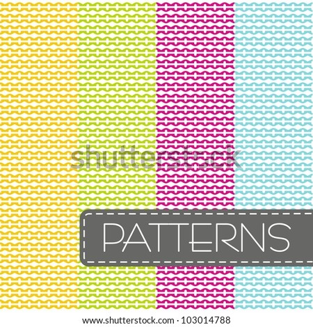 Abstract background, seamless pattern - stock vector