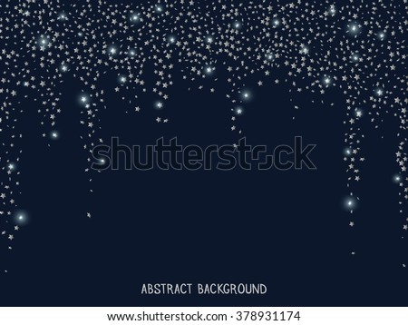 Gold glitter falling stars golden sparkle stock vector 368941259 silver glitter falling stars silver sparkle star vector template for new stopboris Images