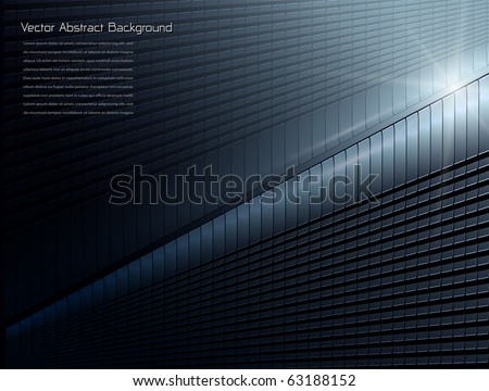 Abstract background stylish blue, vector. - stock vector