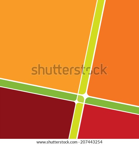 Abstract background template - illustration