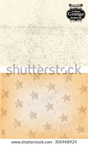 Abstract Background Texture . Grunge Texture. Grunge Background . Vintage Background . Beige Paper Texture . Retro Background . Vector Background - stock vector