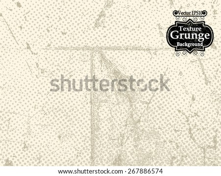 Abstract Background Texture . Grunge Texture. Grunge Background . Vintage Background . Paper Texture . Retro Background . Vector Background. - stock vector