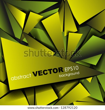 Abstract background Vector abstract banner design Esp 10 Vector illustration - stock vector