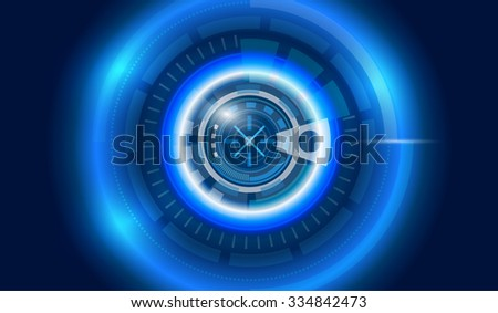 Abstract background,Vector digital technology concept