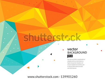 Abstract background vector EPS10 - stock vector