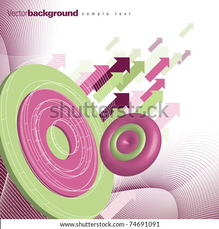 Abstract Background. Vector. eps10. - stock vector