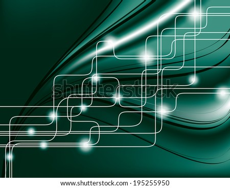 Abstract Background. Vector Format.