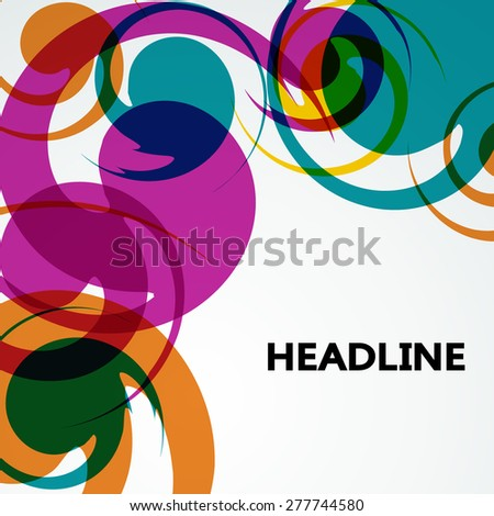Abstract background vector graphics.
