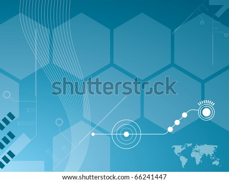 abstract background vector graphics created with technology