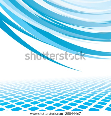 abstract background, vector illustration - stock vector