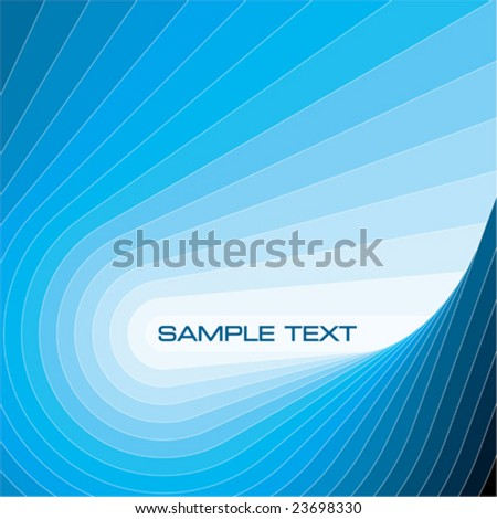 Abstract background vector illustration. Blue layout template. - stock vector