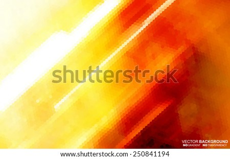 Abstract background. Vector illustration does not contain gradients and transparency - stock vector