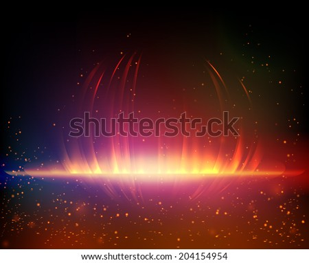 Abstract background. Vector illustration for your artwork, party flyers, posters. - stock vector