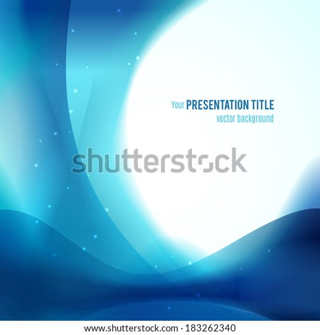 Abstract background. Vector illustration for your business presentation - stock vector