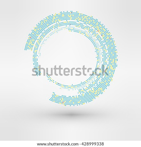 Abstract background. Vector Logo element - stock vector