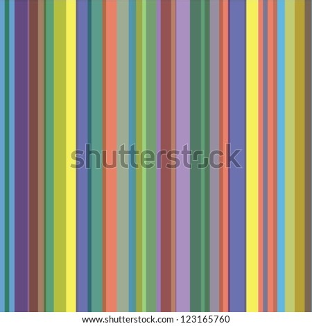 Abstract Background Vector Of Colorful Irregular Stripes
