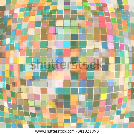 Abstract background. Vector texture pattern of geometric lines. Vector EPS file. Stylish pattern swatches with with global colors.