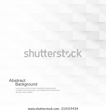 Abstract background, white texture - stock vector