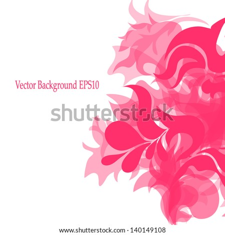 abstract background with a rounded pattern