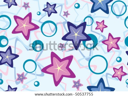 Abstract background with a starfish