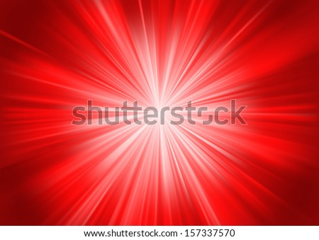 Abstract background with a strong starburst effect. EPS-10 - stock vector