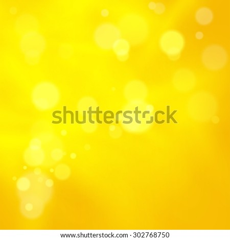 Abstract background with bokeh defocused lights, vector - stock vector