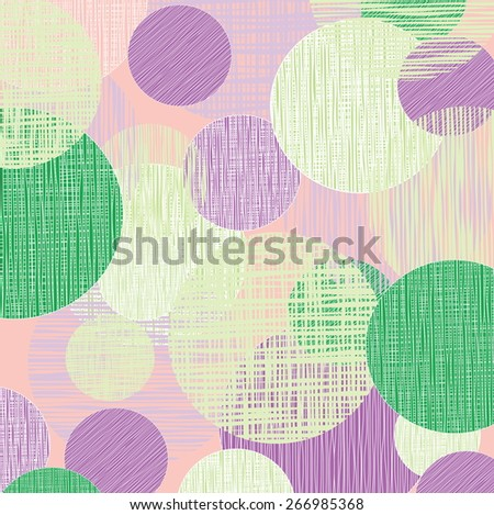 abstract background with circles for use in design - stock vector