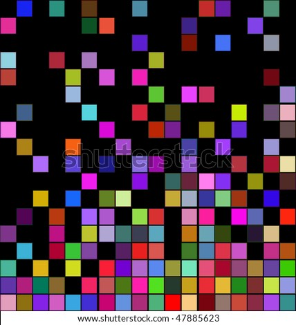 abstract background with color squares