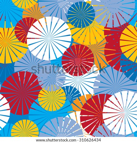 abstract background with colorful circles for use in design
