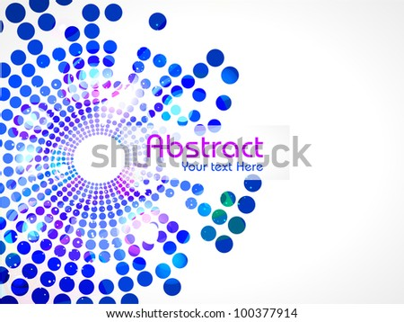 Abstract background with colorful design for text project used and copy space for your text. EPS 10, vector illustration. - stock vector