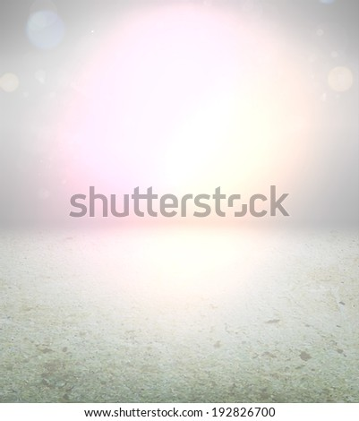 Abstract Background with Concrete Texture - stock vector
