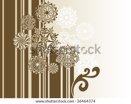 abstract background with creative artwork, vector illustration