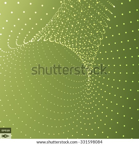 Abstract Background With Curves Lines. Vector Silhouettes Backgrounds. - stock vector