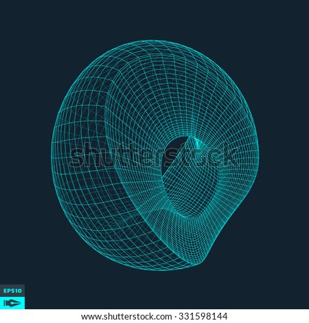 Abstract Background With Curves Lines. Vector Silhouettes Backgrounds.
