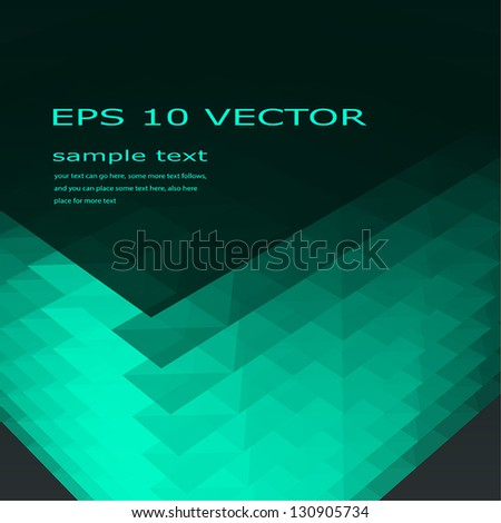 Abstract background with effect of glow. - stock vector
