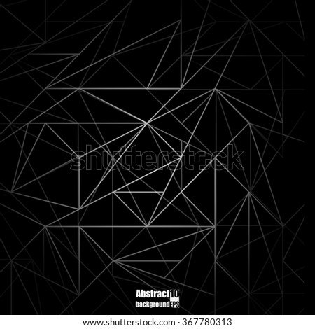 Abstract  background with geometric pattern. Eps 10 Vector illustration