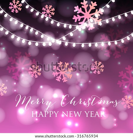Abstract background with glowing lights.  - stock vector