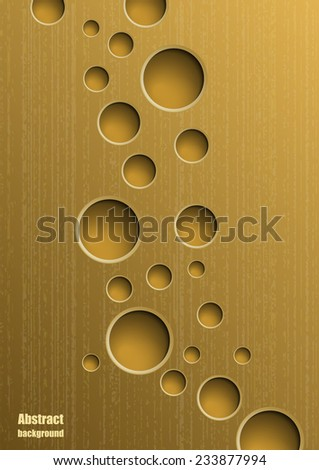 Abstract  background with holes. Eps10 Vector illustration - stock vector