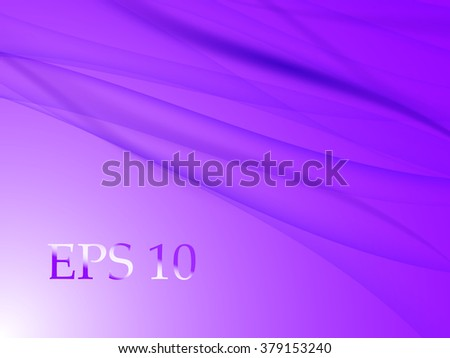 Abstract background with horizontal lines in purple color, vector illustration - stock vector