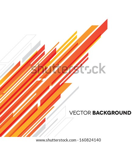 Abstract Background with Lines  - stock vector