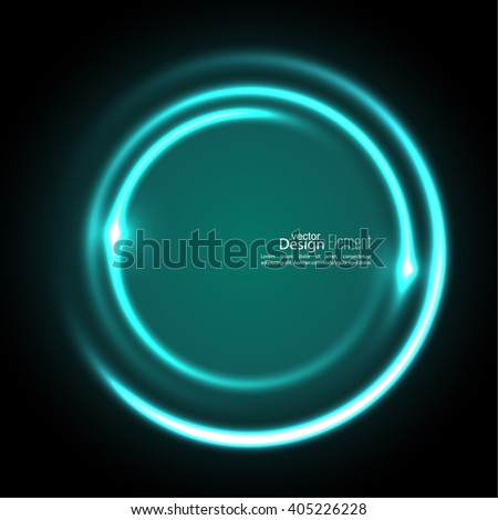 Abstract background with luminous swirling backdrop. Intersection curves. Glowing spiral. The energy flow tunnel. Vector. turquoise,  aquamarine, green,  - stock vector