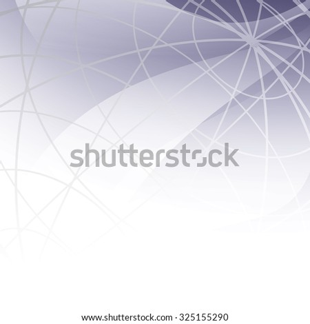 abstract background with meridians - vector - stock vector