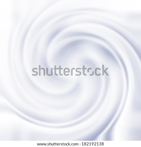 Abstract background with milk cream swirl texture - stock vector