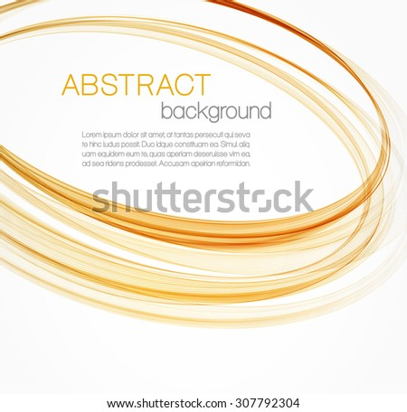 Abstract background with orange ellipses