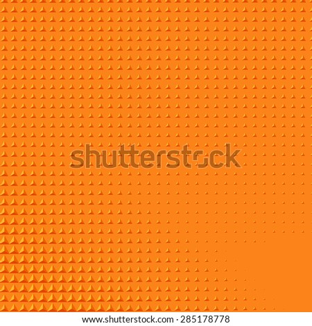 Abstract background with orange triangular shape gradient - stock vector