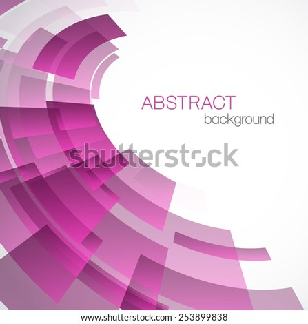 Abstract background with pink rectangles - stock vector